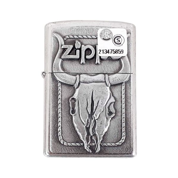 Encendedor Zippo Bull Skull